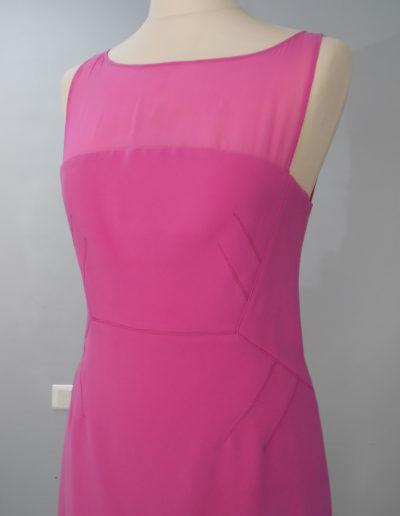 Haut de la robe